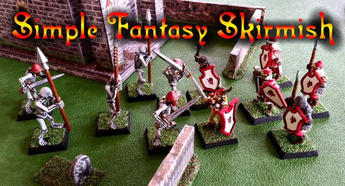 Simple Fantasy Skirmish | Peter Vodden